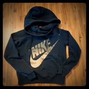 Women's Nike Rose Gold Cowell Neck Hoodie